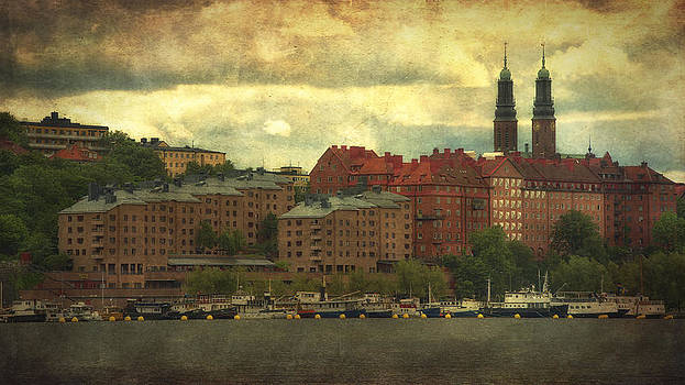 Stormy Skies - Central Stockholm - Sweden by Photography  By Sai