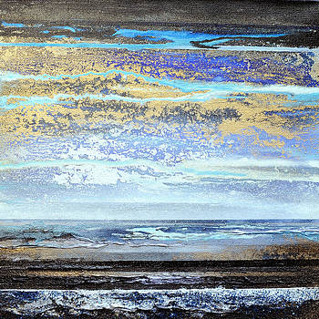 Stormy Skies Hauxley Haven no1 by Mike   Bell