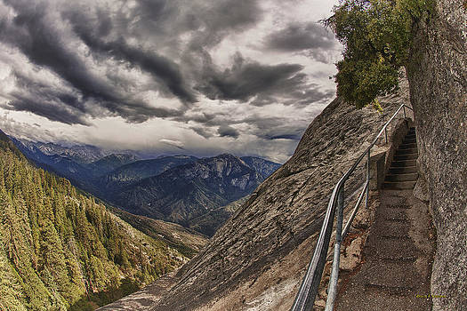 Angela Stanton - Stormy skies on Moro Rock