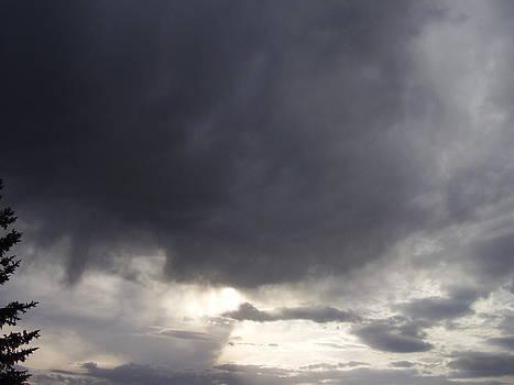 Stormy Skies by Yvette Pichette