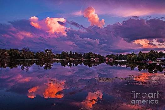 Stormy Sky by Fred L Gardner