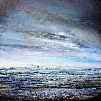 Stormy Sky  Hauxley Haven Series Blue by Mike   Bell