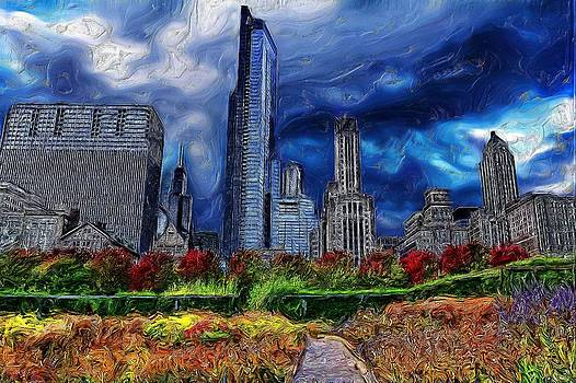 Stormy Skyline by Cary Shapiro