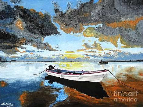 Stormy Sunrise by Hussein El Kaissy