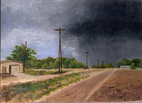 Stormy West El Paso by Lorena Bishop