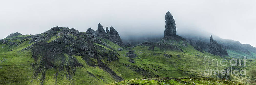 Storr in the Clouds by Matt  Trimble