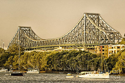 David Hill - Story Bridge - Icon of Brisbane Australia