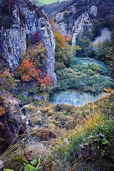 Storybook Park  Plitvice Natl Park by Beverly Hanson