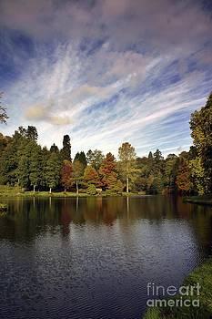 Stourhead - Autumn by Sally Barnett