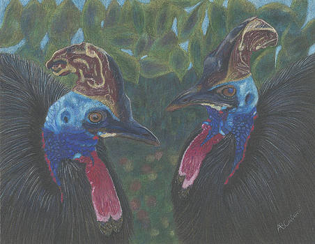Strange Birds by Arlene Crafton