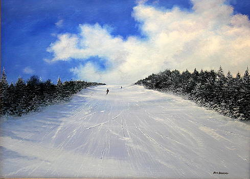Stratton Clouds by Ken Ahlering