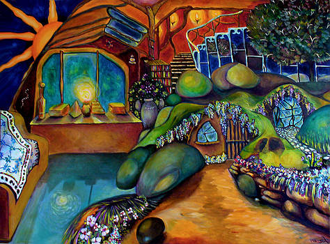 Patricia Lazaro - Elves Cave house