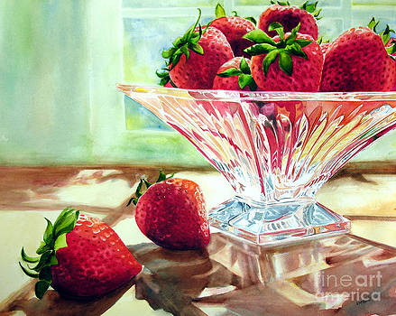 Strawberries and Crystal by Elizabeth  McRorie