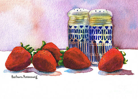 Strawberries and Shakers by Barbara Rosenzweig