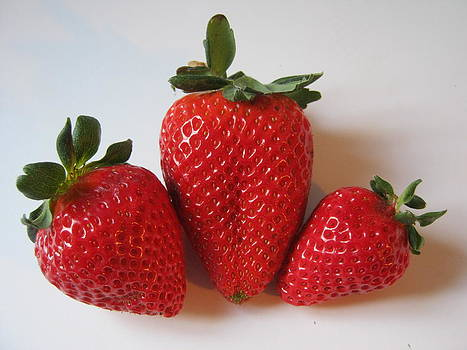 Strawberries by Deanna King