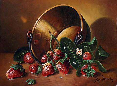 Strawberries by Dusan Vukovic