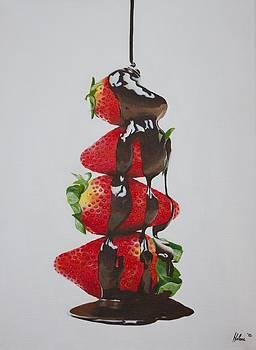 Strawberries by Helene Schmittgen