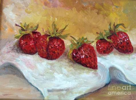 Irene Pomirchy - Strawberries
