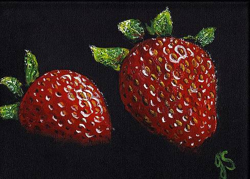 Strawberries by Joyce Sherwin