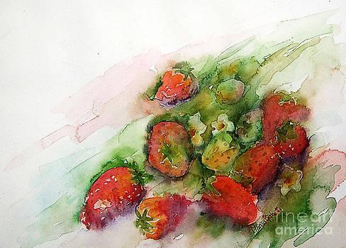 Strawberries by Marisa Gabetta
