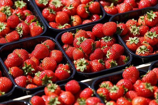 Strawberries by Paul Indigo