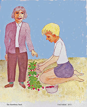 Strawberry Patch by Fred Jinkins