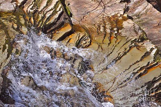 Stream Falls by Mark Messenger