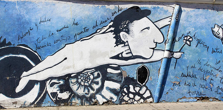 Kurt Van Wagner - Street Art Santiago Chile