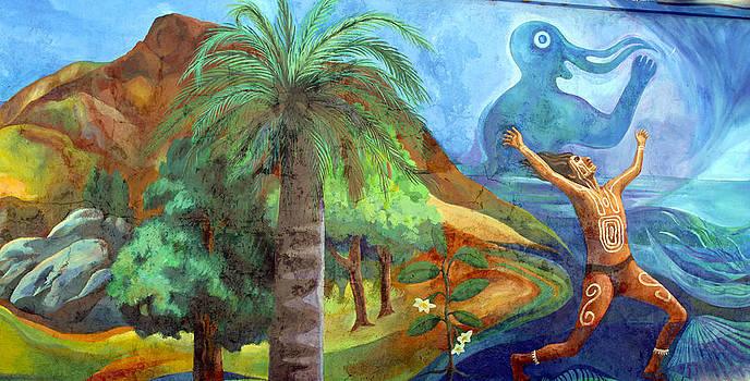 Kurt Van Wagner - Street Art Valparaiso Chile 4