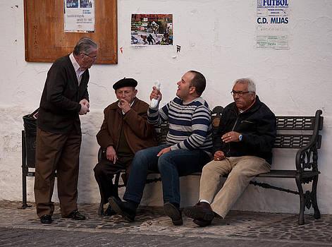 Street debate by Paul Indigo