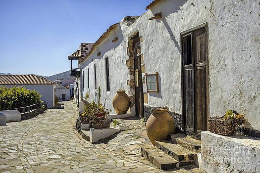 Patricia Hofmeester - Street in Betancuria Fuerteventura Spain