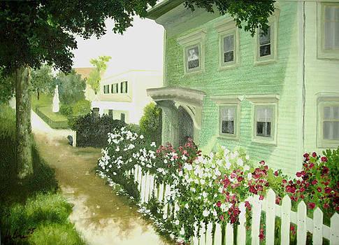 Street in Maine by Helene Schmittgen