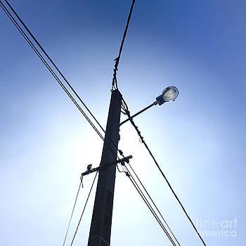 BERNARD JAUBERT - Street lamp and power lines
