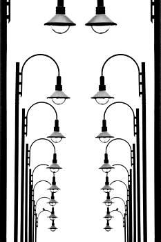 Street lamps  by Alena Bytcankova