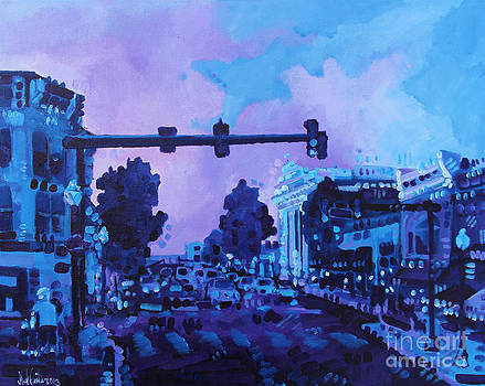 Street Life on Broad Street by Michael Ciccotello