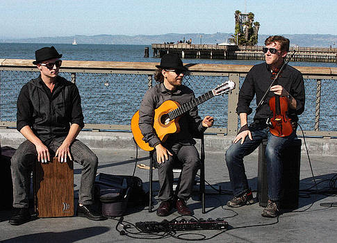 Street Music By The Bay by Jennifer Muller