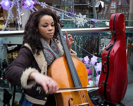 Street musician by Paul Indigo