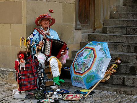 Street Musician by Sherlyn Morefield Gregg