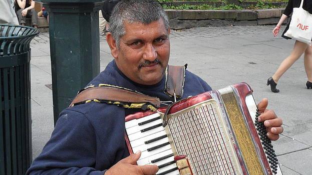 Teo SITCHET-KANDA - Street Musician - The Gypsy Accordion Player 1