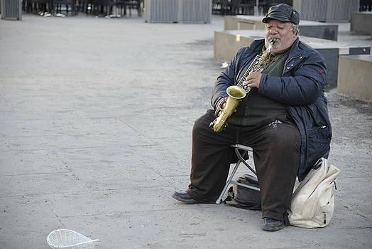 Teo SITCHET-KANDA - Street Musician - The Gypsy Saxophonist 3