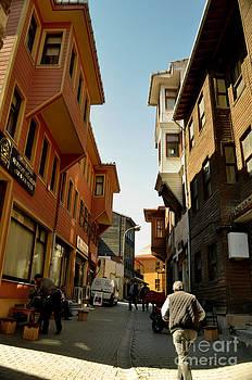 street of Istanbul by Bener Kavukcuoglu