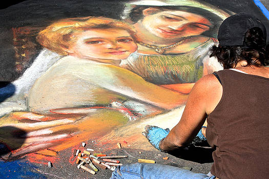 Venetia Featherstone-Witty - Street Painting