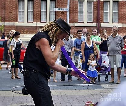 Street performer1 by Bobby Mandal