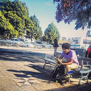 ...street Photography (70) #reading by Tyrone Stokes