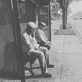 ...street Photography (71) #busstop by Tyrone Stokes