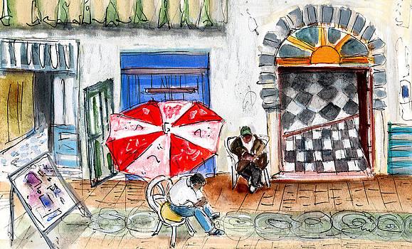 Miki De Goodaboom - Street Scene In Essaouira