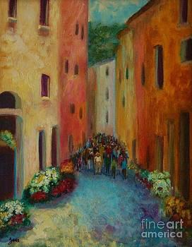 Street Scene by Jana Baker