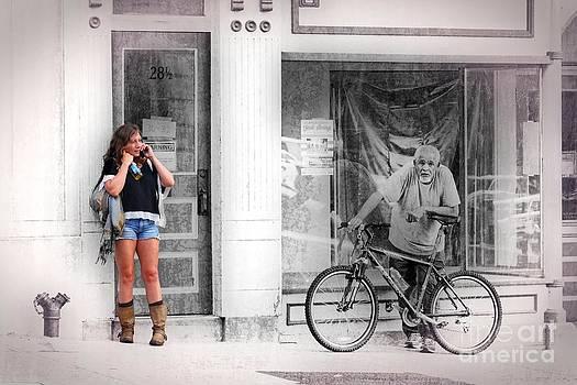 Street Scene by Joseph J Stevens