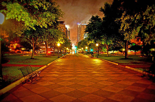 Street Scenes on a Rainy Night by Timothy Johnson