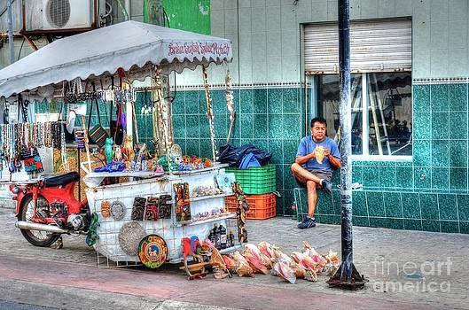 Street Vendor by Debbi Granruth